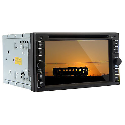 """Single 1 Din 7"""" Car DVD Player HD Touchscreen Radio USB/SD with Free Backup Cam"""