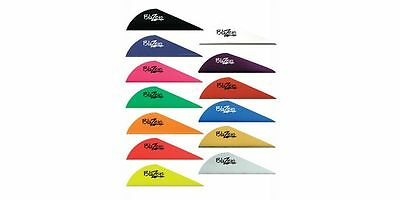 """12, 36, 50 or 100 Pack Bohning 2"""" Blazer Vanes 16 Colors Available"""