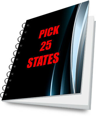 Tax Lien Certificate Tax Deed Tax Sale Guide PICK ANY 25 STATES!