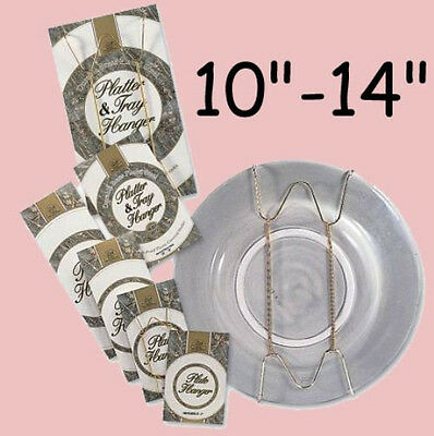 """Adjustable  Plate Wall Hanger Adapter 10-14"""" for Larger Plates"""