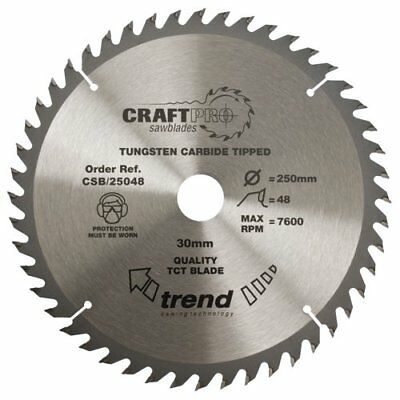 Trend Csb/31548 Craft Saw Blade 315Mm X 48T X 30Mm