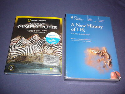 Teaching Co Great Courses DVDs             A NEW HISTORY OF LIFE    new + BONUS