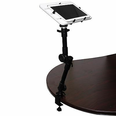 Desk Mount Stand Holder Desk for Tablets iPad Mini iPad Small Laptop