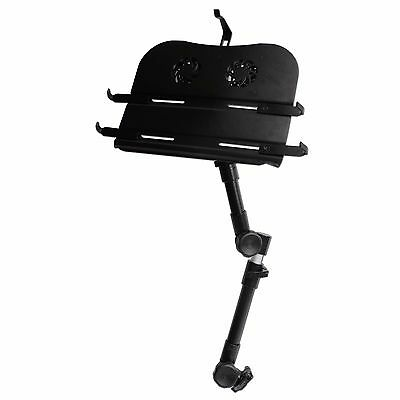 Universial Laptop Ipad Mount Stand Holder Desk for Car/Truck SUV w/ COOLING FAN