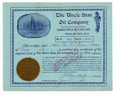 1908 Uncle Sam Oil Company