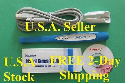 DARYOU 2017 Intraoral Dental Camera ,Super Clear Quality, DY-50  5MP.USA Seller