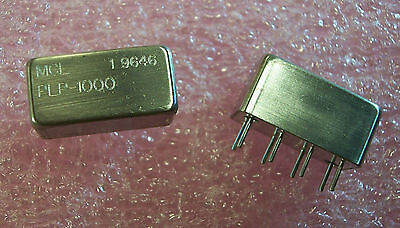 QTY (3) PLP-1000 MINI CIRCUITS DC to 900MHz LOW PASS FILTER PLP1000