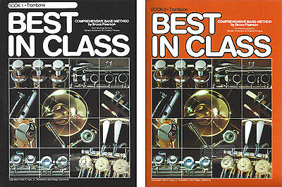 Best In Class for Trombone Books 1 & 2 Comprehensive Band Method