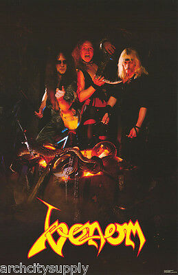 Poster :music :  Venom - Group Posed - Free Shipping !   #cpp02 Lw1 T