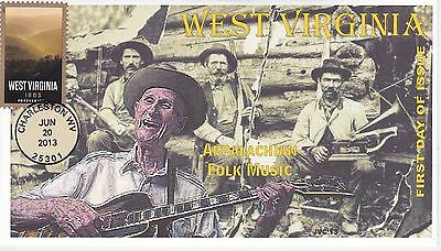 Jvc Cachets - 2013  West Virginia Statehood  Issue First Day Cover Fdc #2