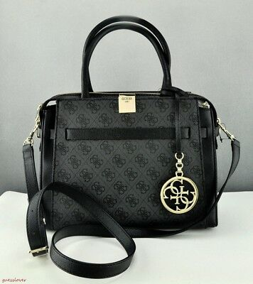 FREE SHIP USA Chic Handbag GUESS Satchel Tote Christy Ladies