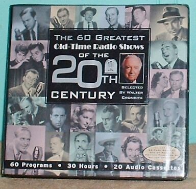 Old Time Radio's Shows Of 20Th Century Audio 60 Programs 30 Hours 20 Cassettes