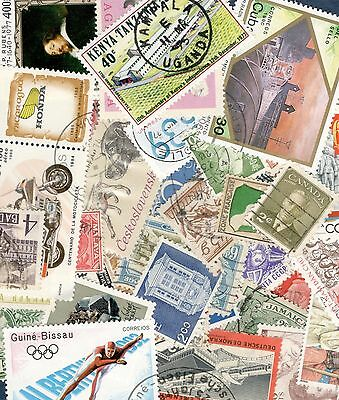 Worldwide Stamps Lot Of 50+ Used Off Paper No Doubles (free shipping offer)