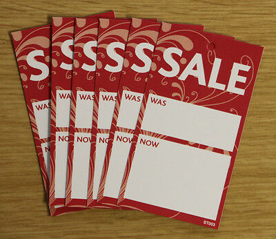 Boutique SALE TAGS SWING TICKETS x 1000 (ST003)