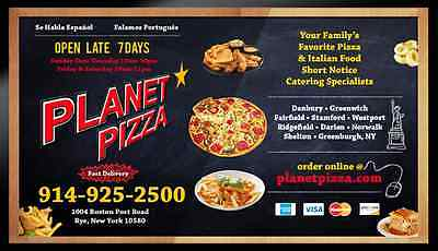 Digital Menu Boards for Restaurants, Pizzerias , Bars, Coffee Shops, Bakeries