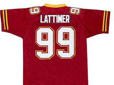 The Program Movie Football Jersey - Lattimer  99 Quality Sewn New Any Size 9fdfa0aa6