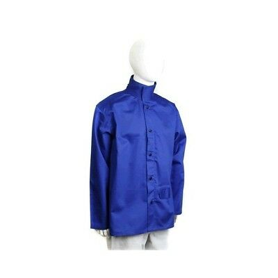 Welding jacket -  Proban - Royal Blue -Gun Gear Safety. AP683