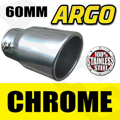 Chrome Exhaust Tail Pipe Tip Trim Audi Q7 Rs 80 100