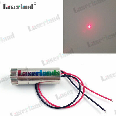 Industrial Focusable 50mW 650nm 660nm Red Laser DOT Diode Module 3VDC-5VDC