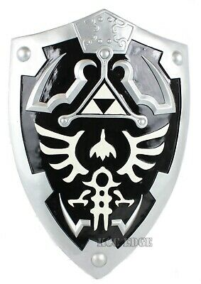 1:1 Full Size Dark Link's Hylian Shield from the Legend of Zelda Halloween Xmas