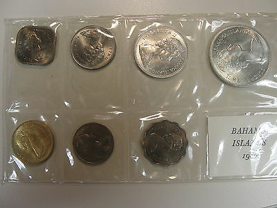 1966 Bahamas Mint Set in Celo, Great Coins Rare (JW)