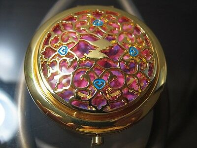 SEPHORA DISNEY JASMINE The Palace Jewel Compact Mirror NIB +BONUS Pouch *Limited