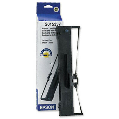 Epson S015337 (5,000,000 Characters) Black Fabric Ink Ribbon Cartridge