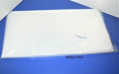 100 CLEAR 18 x 20 POLY BAGS PLASTIC LAY FLAT OPEN TOP PACKING ULINE BEST 1 MIL