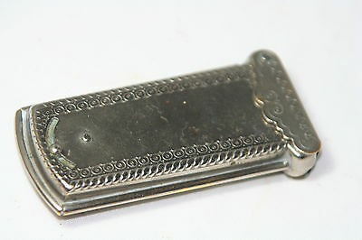 rare ANTIQUE W. Avery & Son Redditch ~~silver plated casket~~NEEDLE CASE,