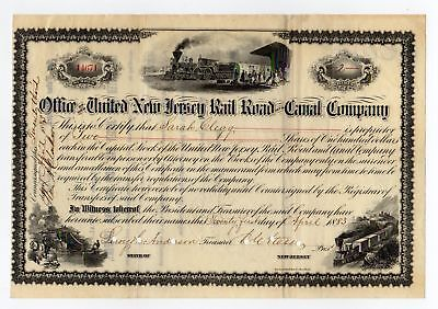 Office of the United New Jersey Railroad and Canal Co.