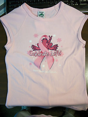 Peace Frogs Jr X-Large Breast Cancer  Muscle T-Shirt
