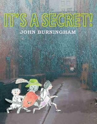 It's a Secret! by John Burningham (English) Hardcover Book Free Shipping!