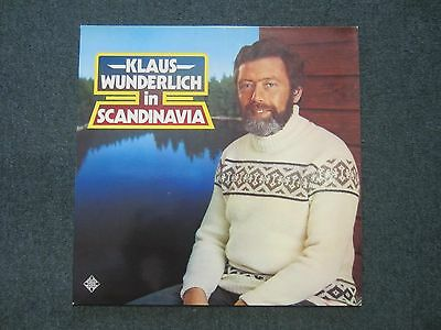 Klaus Wunderlich in Scandinavia~RARE 1977 German Import Organ LP~FAST SHIPPING!
