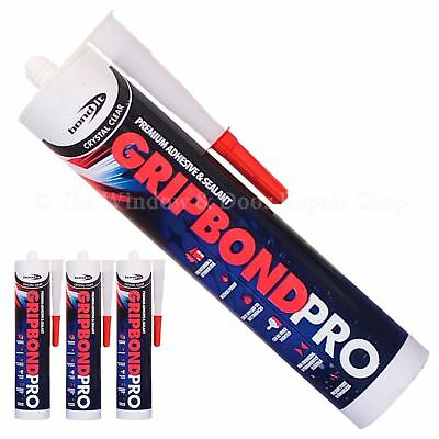 4 x Gripbond Pro Strong Adhesive Hybrid Polymer Sealant Odourless Silicone
