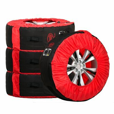 4 x TYRE CARRY STORAGE BAGS 14''-18''  wheel Protective COVERS standard size