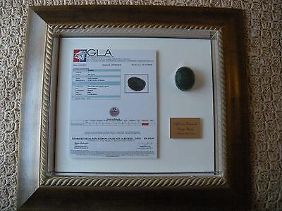 Emerald, 807 cts, forest green gem stone, $28,000