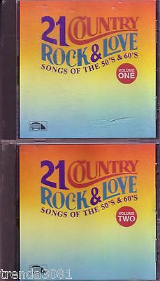Country Rock Love Songs 50s 60s LAURIE RECORDS 2 CD Greatest JIM REEVES CHIFFONS