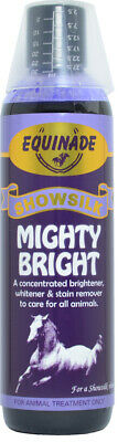 Equinade MIGHTY BRIGHT Stain Remover Horse Dog All animals brighten whiten 250ml