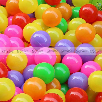 100 Pcs/lot Eco-Friendly Soft Plastic Tent Water Pool Ocean Wave Ball Colorful