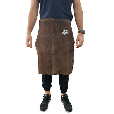 Leather Welding Apron - Half Apron - Split Cowhide- Good Quality  AP6024