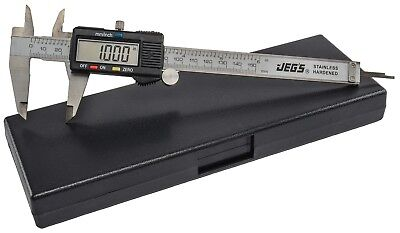 "JEGS Performance Products 80519 Digital Caliper with Case 0-6"" range"