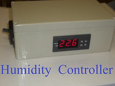 Plug & Play Humidistat Control Switch Relative Humidity Hygrometer Controller