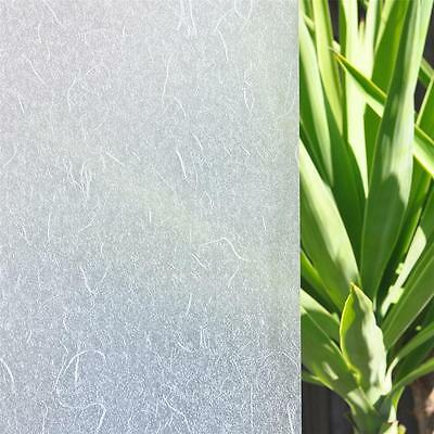 90cm x 10m Rice Paper Privacy Frosted Frosting Removable Window Glass Film