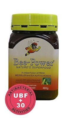 Bee Power Infusion Wa Pollen Eucalyptus Honey Ubf+30 - 480G