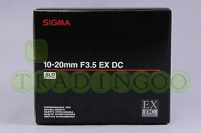 Brand New Sigma 10-20mm f/3.5 EX DC HSM for Pentax (UPC: 0085126202613)