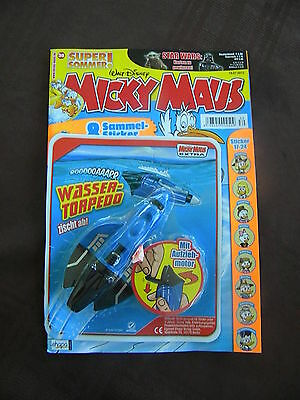 German:walt Disney:mickey Maus (Mickey Mouse)#30 Comic With Free Toy....