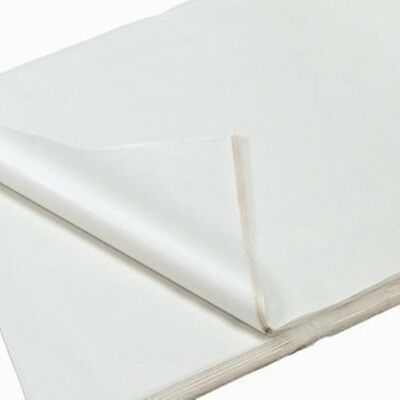 50 100 ream OF WHITE ACID FREE TISSUE WRAPPING PAPER SIZE 450 X 700MM 18 X 28""