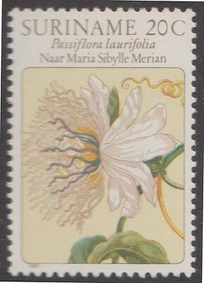 (SU16) 1981 SURINAME flower drawing 5set ow1023-27