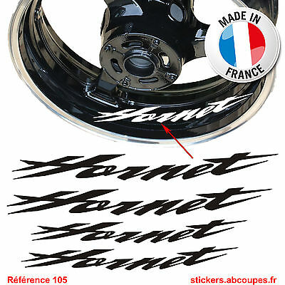 Stickers Jante Hornet - Autocollants Liseret Honda CB Hornet 250 600 Decal - 105