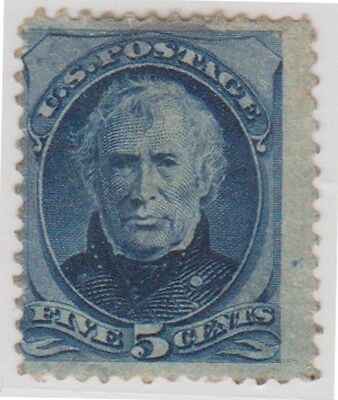 (RB36) 1875 USA 5c blue General Zachary Taylor ow181
